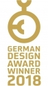 Winner of a German Design Award 2018