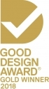 Gold in the Branding and Identity category at the Australian Good Design Awards 2018