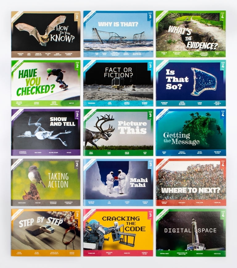 Covers of 15 editions of Connected